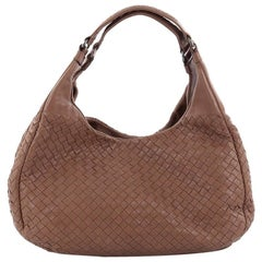 Bottega Veneta Campana Hobo Intrecciato Nappa Medium