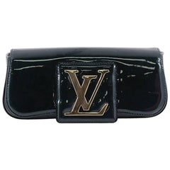 Louis Vuitton Sobe Patent Leather Clutch Bag