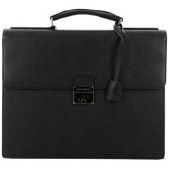 Dolce & Gabbana Dauphine Briefcase Leather