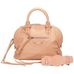Balenciaga Pink Classic Bowling Bag
