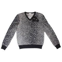 Mens Saint Laurent Mohair Knit Jumper Sweater L