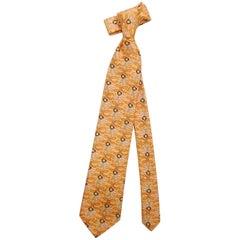 """Men's Essential Emilio Pucci Psychedelic Silk Neck Tie Vintage 2000's, 60""""L"""