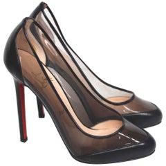 Christian Louboutin Black Pumps Heels 37 uk 4