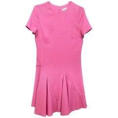 Christian Dior Pink Wool Dress Sz 6