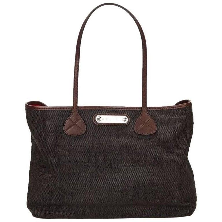 Black Céline Fiber Tote Bag For Sale