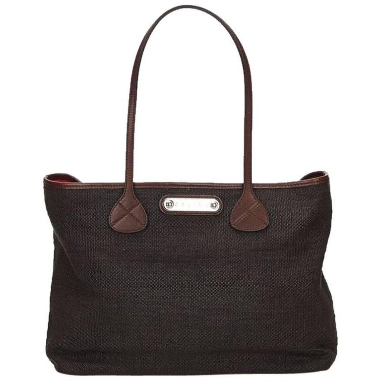 Black Céline Fiber Tote Bag 1