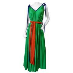 Fabulous 1970s Tori Richard Trapeze Dress