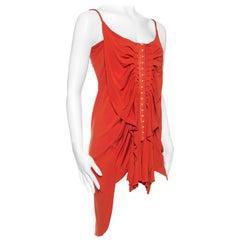 Jean Paul Gaultier Slinky Jersey Dress