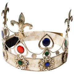 Vintage Silver Crown