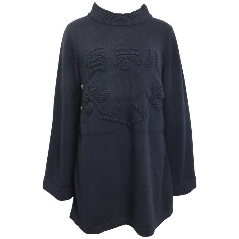 c4223ab4e57 Chanel Black Cashmere