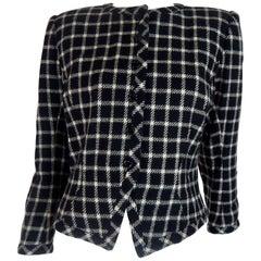 Ungaro Black and White Blazer Jacket
