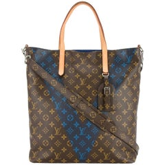 Louis Vuitton Monogram Men's Carryall Travel Tote Shoulder Bag