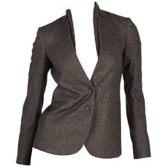 Gucci Wool Jacket - dark grey