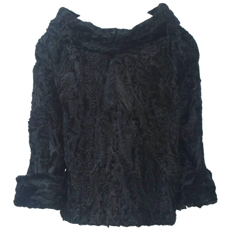 Black Broadtail Tunic For Sale