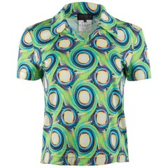 1980's Matsuda Psychedelic Print Short Sleeve Top