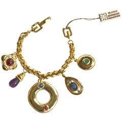 80s Givenchy Charm Bracelet