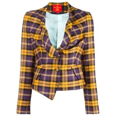 1990s VIVIENNE WESTWOOD Red Label check jacket