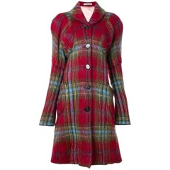 1990s VIVIENNE WESTWOOD Gold Label tartan coat