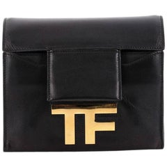Tom Ford Hidden TF Shoulder Bag Leather Small