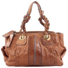 Chloe Heloise Tote Leather Medium