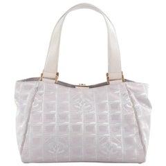 Chanel Travel Line Shoulder Bag Nylon Medium