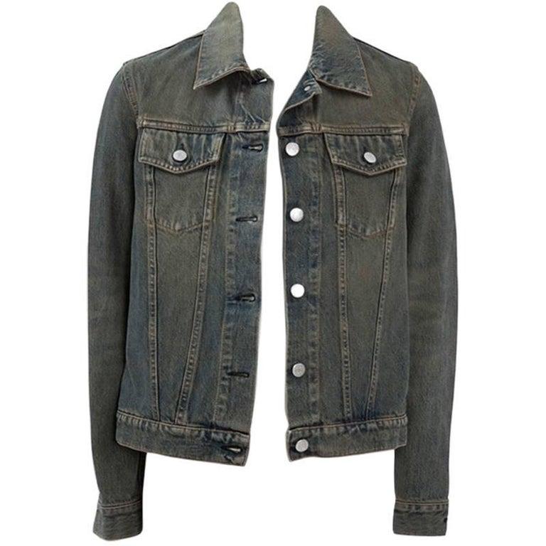 Helmut Lang Denim Jacket  For Sale