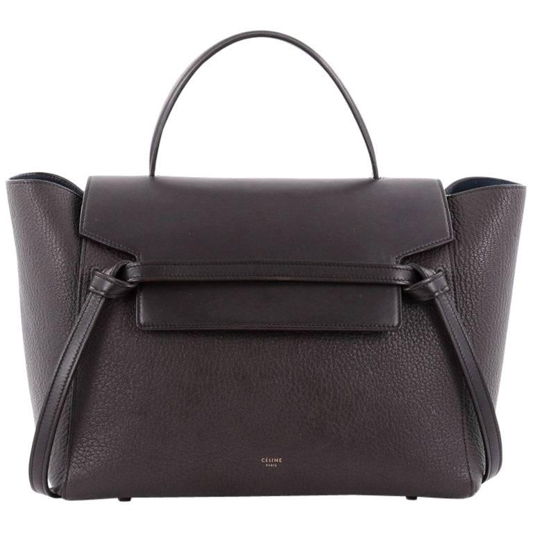 5b4e15c86584 Celine Belt Bag Pebbled Leather Mini at 1stdibs