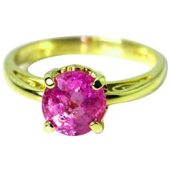 Real Pink Sapphire Ring