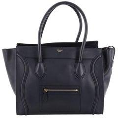 Celine Shoulder Luggage Bag Leather