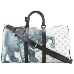 Louis Vuitton NEW Limited Edition Men's Travel Weekend Shoulder Tote Duffle Bag
