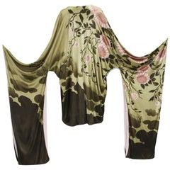 New Tom Ford for Gucci Campaign S/S 2003 Silk Kimono It.40