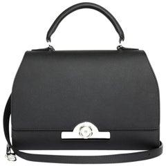 MOYNAT 'Rejane' Bag in Black Calf Leather