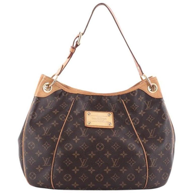louis vuitton galliera handbag monogram canvas pm at 1stdibs