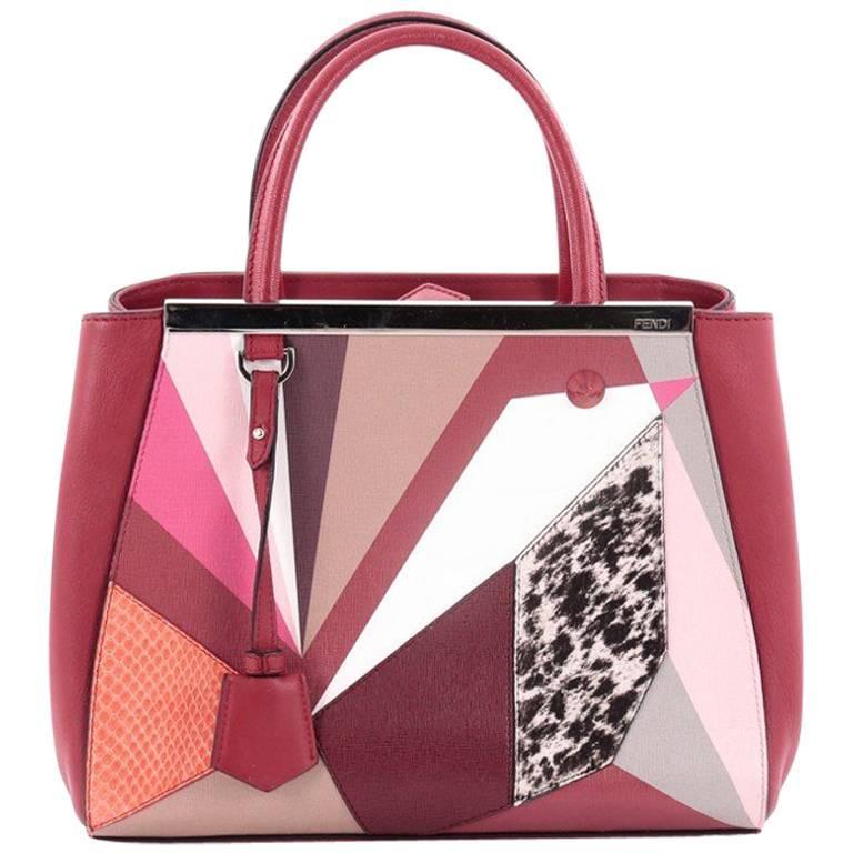 Fendi 2Jours Handbag Mixed Media Petite at 1stdibs 1569f49695113