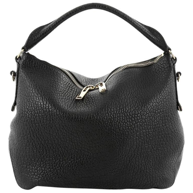 ... Bags. Burberry Ledbury Convertible Hobo Heritage Grained Leather Small  For Sale 3ea18383b5c6d