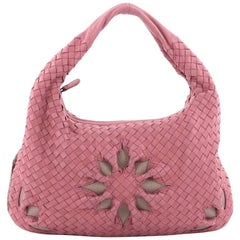 Bottega Veneta Veneta Hobo Cut Out Intrecciato Nappa Medium
