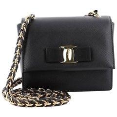 Salvatore Ferragamo Ginny Crossbody Bag Saffiano Leather Mini