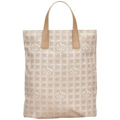 Chanel Beige New Travel Tote