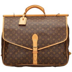 Louis Vuitton Brown Monogram Sac Chasse