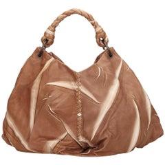 Bottega Veneta Brown Tie-Dye Aquilone Bag