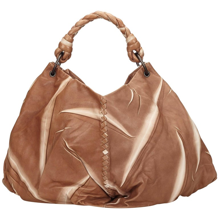 Bottega Veneta Brown Tie-Dye Aquilone Bag 1
