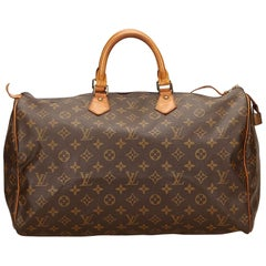 Louis Vuitton Brown Monogram Speedy 40