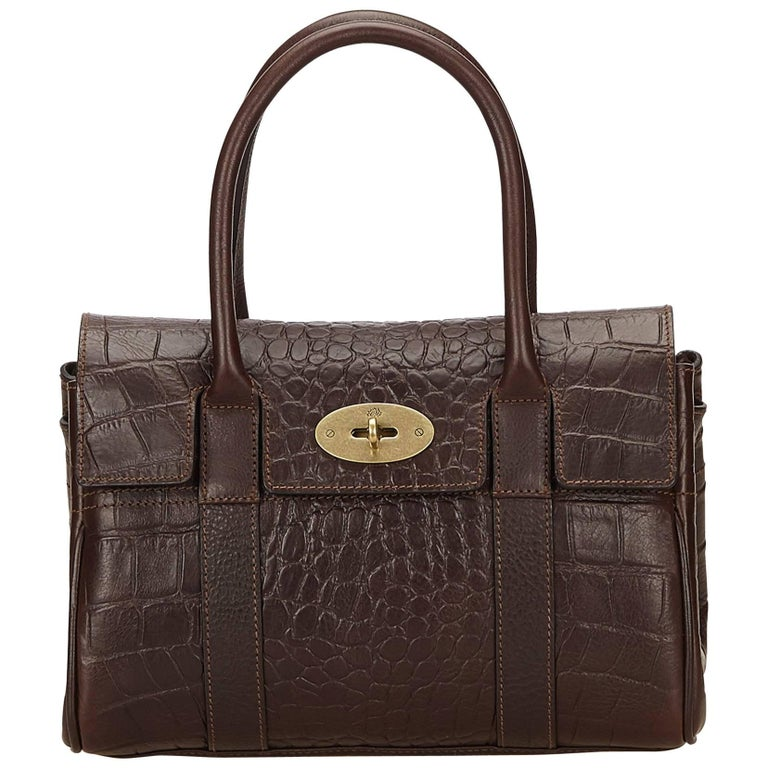 Mulberry Brown Leather Bayswater For Sale at 1stdibs 2e00a16f389db