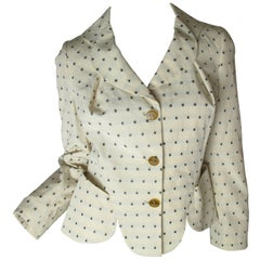 Westwood Red Label Polka Dot Fitted Jacket