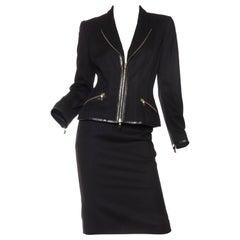 Alexander McQueen Zipper Suit