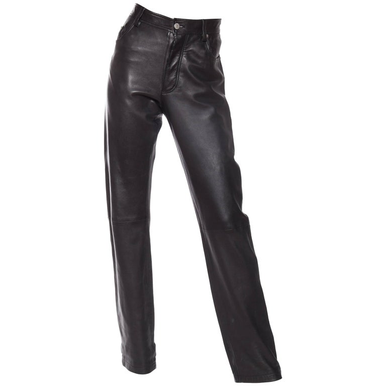 The Perfect Leather Pants from Helmut Lang For Sale