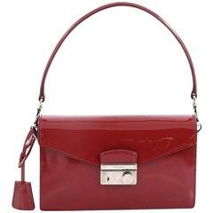 Prada Sound Bag Spazzolato Leather Small