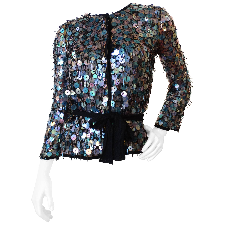 Missoni Iridescent Sequin Jacket