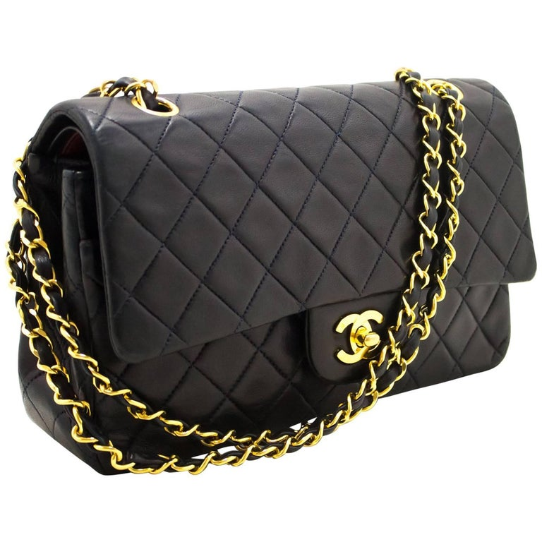 cd4bf16bfad5 CHANEL Navy 2.55 Double Flap 10