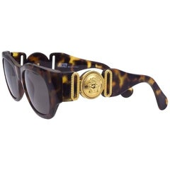 Vintage Gianni Versace Sunglasses Mod 413/A Col 279 Brown